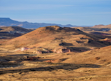ARG2827AW Landscape seen from Ruta 40 near Perito Moreno Town, Santa Cruz Province, Patagonia, Argentina