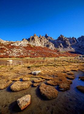 ARG3048AWRF Toncek Lagoon and Cerro Catedral, Nahuel Huapi National Park, Rio Negro Province, Argentina