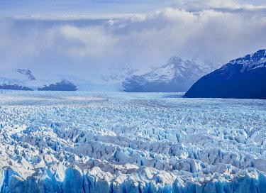 ARG3065AWRF Perito Moreno Glacier, elevated view, Los Glaciares National Park, Santa Cruz Province, Patagonia, Argentina