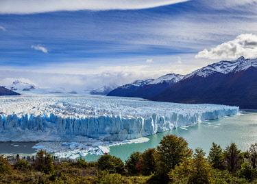 ARG3067AWRF Perito Moreno Glacier, elevated view, Los Glaciares National Park, Santa Cruz Province, Patagonia, Argentina