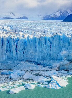 ARG3068AWRF Perito Moreno Glacier, elevated view, Los Glaciares National Park, Santa Cruz Province, Patagonia, Argentina