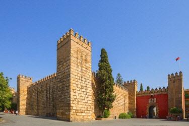 SPA7988AW Real Alcazar, UNESCO World Heritage Site, Sevilla, Andalusia, Spain