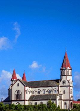 CHI11123AW Sagrado Corazon de Jesus Church, Puerto Varas, Llanquihue Province, Los Lagos Region, Chile