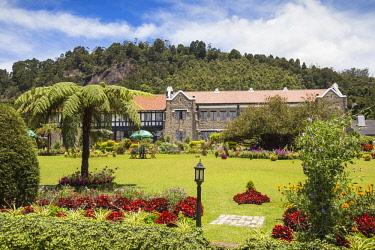 SL01236 Sri Lanka, Nuwara Eliya, The Hill Club, Hotel and private gentleman's club, whose founding members were mostly British coffee, cinchona or tea planters now a hotel,