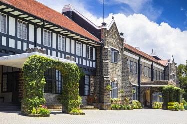 SL01237 Sri Lanka, Nuwara Eliya, The Hill Club, Hotel and private gentleman's club, whose founding members were mostly British coffee, cinchona or tea planters now a hotel,