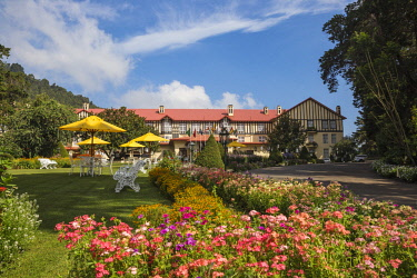 SL01259 Sri Lanka, Nuwara Eliya, The Grand Hotel, The former residence of Sir Edward Barnes, Governor of Sri Lanka from 1830 to 1850