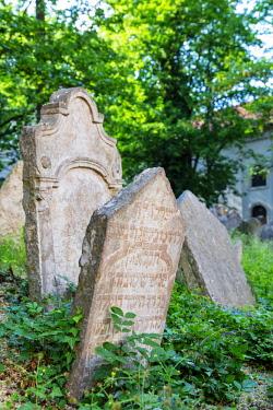 CZE1899RF Europe, Czech Republic, Bohemia, Prague, Unesco site, Jewish Cemetery