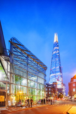 ENG15596 Europe, United Kingdom, England, London, The Shard designed by Renzo Piano
