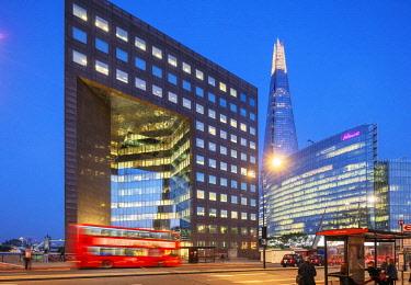 ENG15605 Europe, United Kingdom, England, London, The Shard designed by Renzo Piano and Howard Kennedy, No 1 London Bridge