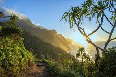 USA13598AW USA, Hawaii, Kauai, North Shore, Na Pali Coast