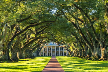 USA12567AW United States, Louisiana, Vacherie. Historic Oak Alley Plantation.