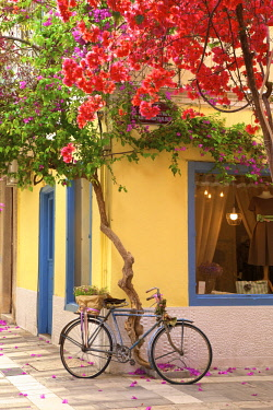 GR249RF Old Town of Nafplio, Argolis, The Peloponnese, Greece, Southern Europe