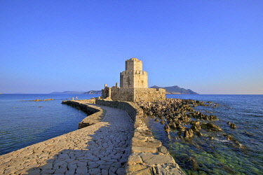 GR06497 The Castle at Methoni, Messinia, The Peloponnese, Greece, Southern Europe