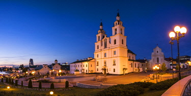 BY037RF Cathedral of the Holy Spirit, Trinity Suburb, Minsk, Belarus