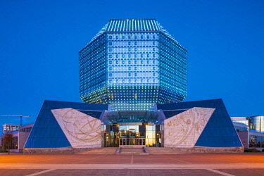 BY051RF National Library of Belarus, Minsk, Belarus