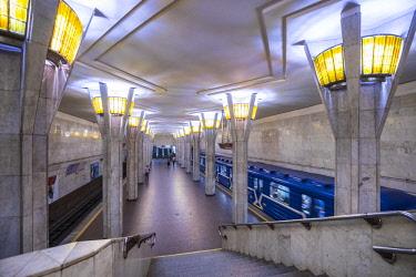 BY01111 Minsk metro, Minsk, Belarus
