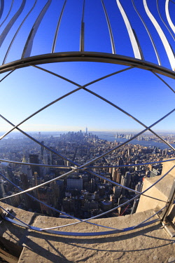 US61720 Usa, New York City, Manhattan, Midtown, Empire State Building Observatory