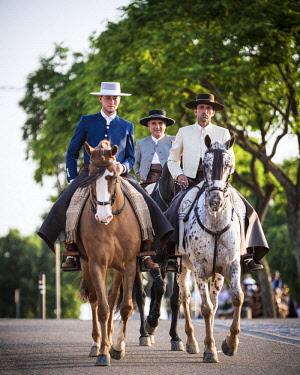 SPA8150AW 3 Horsemen, Feira de Cordoba, Cordoba, Andalucia, Spain