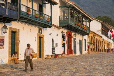 HMS2601964 Colombia, Boyaca department, Villa de Leyva, a colonial city