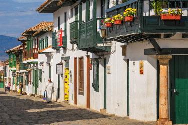 HMS2601975 Colombia, Boyaca department, Villa de Leyva, a colonial city