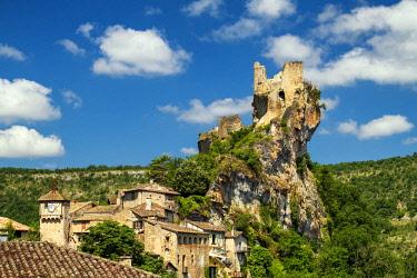FRA10413AW Chateau de Penne, Tarn, Occitainie, France