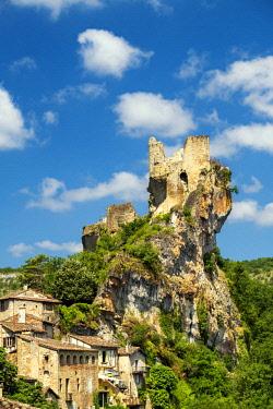 FRA10414AW Chateau de Penne, Tarn, Occitainie, France