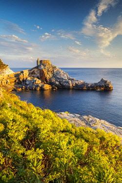 ITA13168AW Coastline at Portovenere, Liguria, Italy