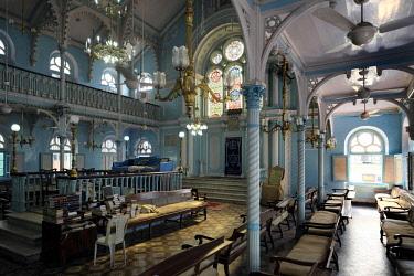 HMS3012123 India, Maharashtra State, Mumbai or Bombay, Keneseth Eliyahoo Synagogue,