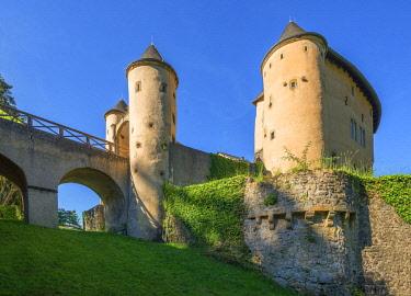 LUX0118AWRF Bourglinster castle, Kanton Grevenmacher, Luxembourg