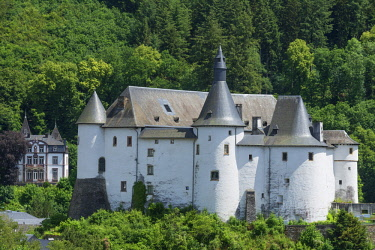 LUX0029AW Castle of Clervaux, UNESCO World Heritage Site, Kanton Clervaux, Luxembourg