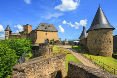 LUX0034AW Bourscheid castle, Kanton Diekirch, Luxembourg