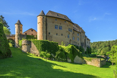 LUX0037AW Bourglinster castle, Kanton Grevenmacher, Luxembourg