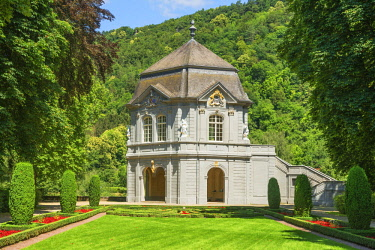 LUX0045AW Roccoco pavillion at Echternach, Kanton Echternach, Luxembourg