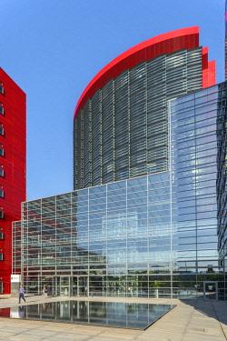 LUX0096AW RBC office building (Vasconi Associes Architectes) at Belval, Esch-sur-Alzette, Kanton Esch, Luxembourg