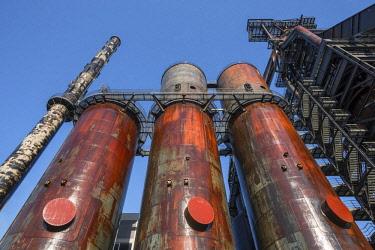 LUX0101AW Former steel works museum at Belval, Esch-sur-Alzette, Kanton Esch, Luxembourg