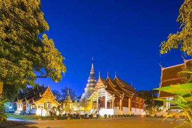 HMS3034763 Thailand, Chiang Mai province, Chiang Mai, Wat Phra Sing Luang temple