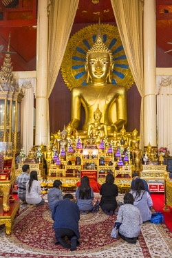 HMS3034764 Thailand, Chiang Mai province, Chiang Mai, Wat Phra Sing Luang temple