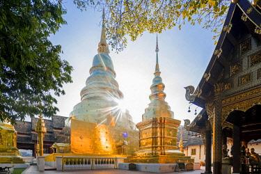 HMS3034804 Thailand, Chiang Mai province, Chiang Mai, Wat Phra Sing Luang temple