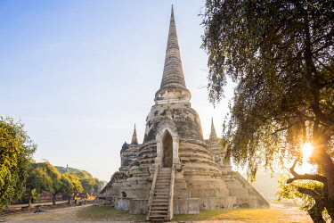HMS3042846 Thailand, province of Phra Nakhon Si Ayutthaya, Ayutthaya, listed as World Heritage by UNESCO, Historical Park, Wat Phra Si Sanphet