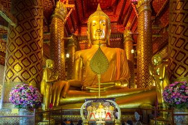 HMS3042848 Thailand, province of Phra Nakhon Si Ayutthaya, Ayutthaya, listed as World Heritage by UNESCO, Historic Park, Wat Phanan Choeng