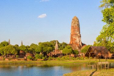 HMS3042864 Thailand, province of Phra Nakhon Si Ayutthaya, Ayutthaya, listed as World Heritage by UNESCO, Historical Park, Wat Phra Ram
