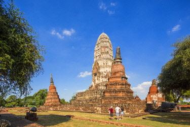 HMS3042865 Thailand, province of Phra Nakhon Si Ayutthaya, Ayutthaya, listed as World Heritage by UNESCO, Historical Park, Wat Ratcha Burana