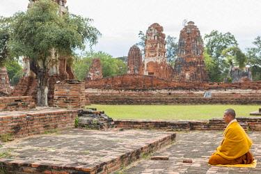 HMS3042869 Thailand, province of Phra Nakhon Si Ayutthaya, Ayutthaya, listed as World Heritage by UNESCO, Historical Park, Wat Chai Wattanaram