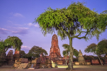 HMS3082842 Thailand, Ayutthaya province, Ayutthaya, Historical Park listed as World Heritage by UNESCO, Wat Phra Ram
