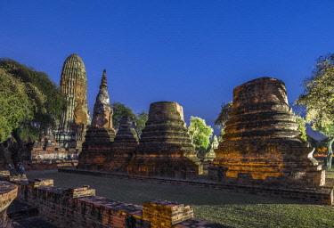 HMS3082844 Thailand, Ayutthaya province, Ayutthaya, Historical Park listed as World Heritage by UNESCO, Wat Phra Ram