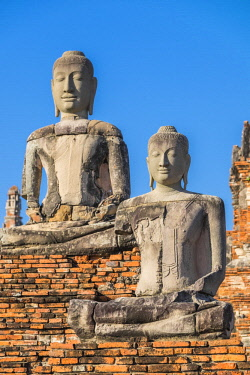 HMS3082855 Thailand, Ayutthaya province, Ayutthaya, Historical Park listed as World Heritage by UNESCO, Wat Chai Watthanaram