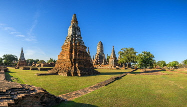 HMS3089860 Thailand, Ayutthaya province, Ayutthaya, Historical Park listed as World Heritage by UNESCO, Wat Chai Watthanaram