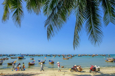 HMS2506656 Vietnam, South Central Coast region, Mui Ne fishing village