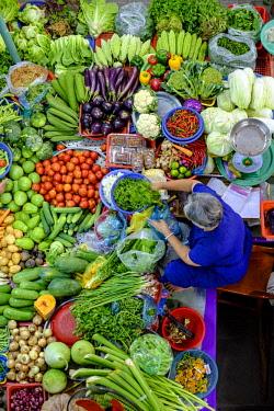HMS3215789 Vietnam, Phan Thiet, the market