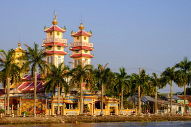 HMS3217128 Vietnam, Mekong delta, Sadec, Cao Dai temple